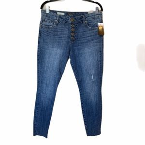 NWT Kut from the Kloth high rise ankle skinny 8